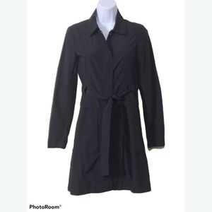 Theory REANN Petite Belted Trench Coat- Women's